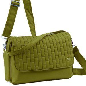 Lug Nylon Horizontal Cross-Body Pontoon Bag